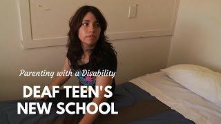 Deaf Teen's New School