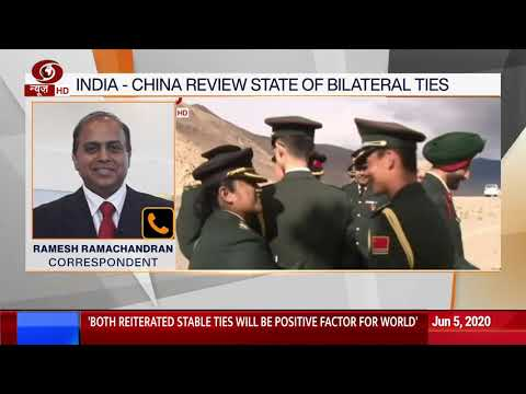India - China review State of Bilateral Ties