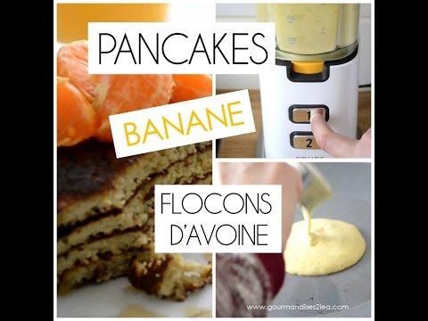 pancakes-à-la-banane-et-flocons-d'avoine-♡