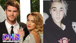 Miley  Cyrus Moves In With Liam Hemsworth - Justin Bieber Drops New Song (DHR)