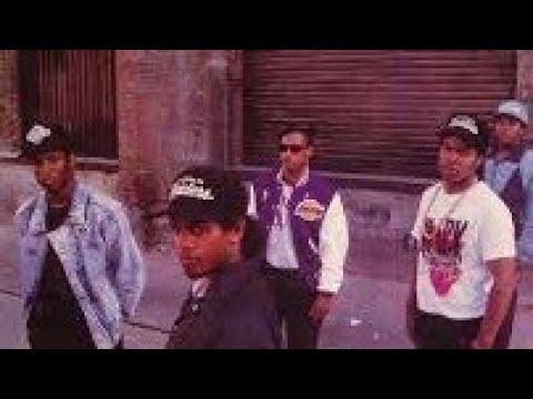 Eazy-E & N.W.A Recording Eazy Duz It Album (1987)