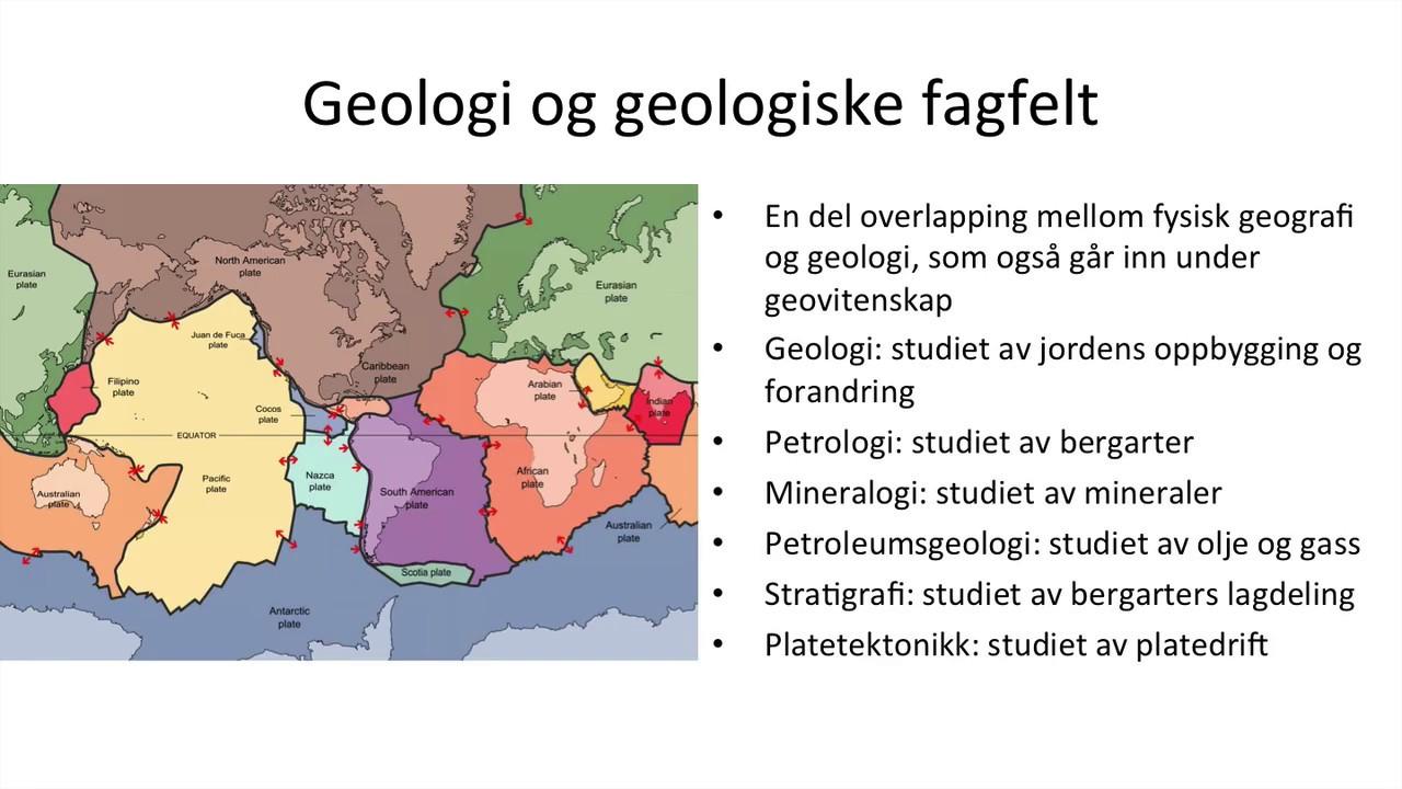 Grunnkurs i geografi - Fysisk geografi, samfunnsgeografi og geologi