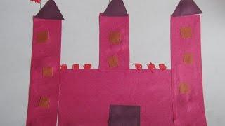 Учим геометрические фигуры. Квадрат и прямоугольник. Видео для детей 3-4 лет/ childrens crafts(Мы дальше изучаем геометрические фигуры - квадрат и прямоугольник и делаем аппликацию. Развивающее видео..., 2016-03-27T20:18:46.000Z)