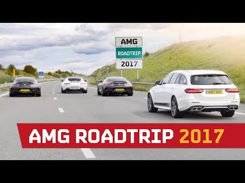 AMG Roadtrip 2017 Part 1 - The 2182BHP Convoy!!