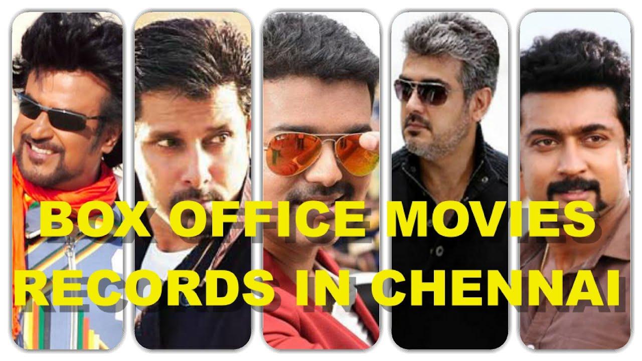 Box fice Movies Records In Chennai