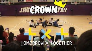 [LOKD] [KPOP AT SCHOOL] TXT (투모로우바이투게더) - CROWN (Girls Version) Dance Performance At Middle School