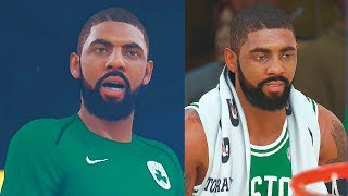Kyrie Irving Booed in Return to Cleveland! Cleveland Cavaliers vs Boston Celtics! NBA 2K18 Gameplay