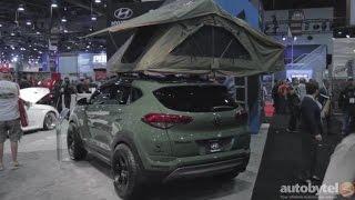 Hyundai Tuscon Adventure Concept Car @ SEMA