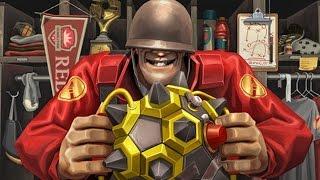 Тестим гг. Играем в Team Fortress 2