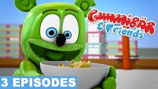 Download Gummy Bear Show FUN WITH FOOD Gummibar And Friends Compilation Mp3 and Videos