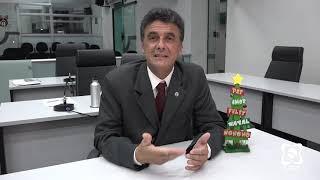 """""""Que vocês tenham muitas felicidades no novo ano"""", mensagem do vereador Abelardo"""