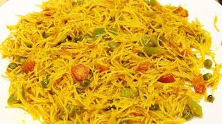 मैगी खाना भूल जाओगे अगर खा लोगे ये टेस्टी सब्ज़ी वाले सेवियाँ पुलाव । vegetable vermicelli pulao /