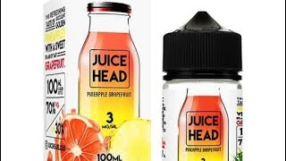 Juice Head Pineapple Grapefruit Ejuice Review