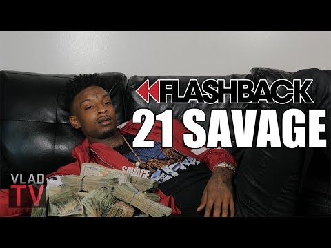 """Flashback: 21 Savage's Infamous """"Issa Knife"""" Interview"""