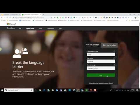 Microsoft Translator: Conversations