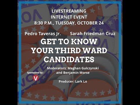 Third Ward Candidates Forum