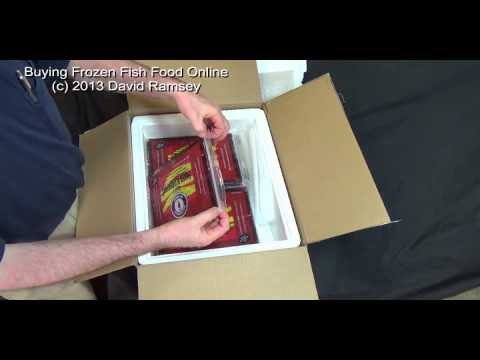 Buying Frozen Fish Food Online, What Happens?