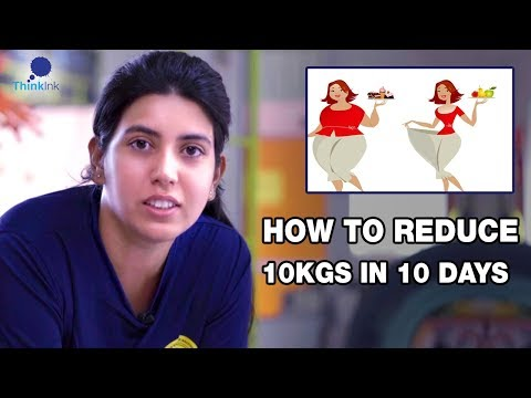 How to reduce 10kgs in 10 days from home | Fitness | Chapter 1 | Think Ink