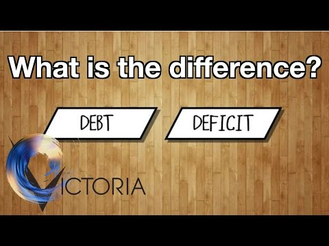 Debt and deficit: What is the difference? - Victoria Derbyshire