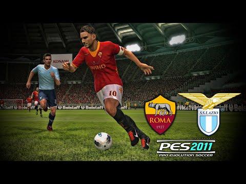 5 Minutes Of Football: PES 2011 - Roma V Lazio!