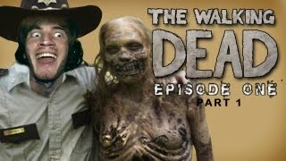 The Walking Dead - Lets Play - Episode 1 (A New Day) - Part 1 - [Walkthrough / Playthrough]