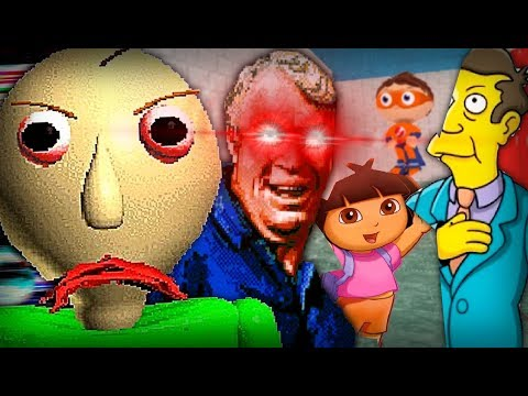 BALDI'S BASICS SEQUEL WITH HIS BEST FRIENDS!! NEW ENDING!! | Madden's Basics