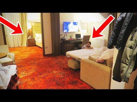De-a V-ati ASCUNSELEA in HOTEL! Alex si Ariana