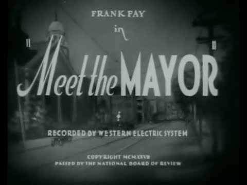 Meet the Mayor (1932) Ralph Cedar