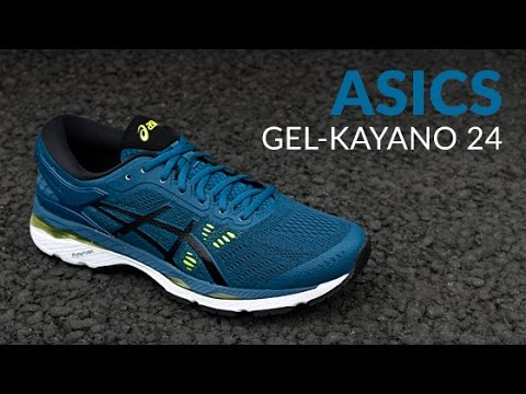 18d873e56ad ASICS GEL-Kayano 24 - Running Shoe Overview - YouTube