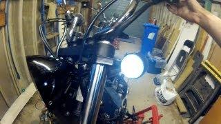 V Star Bobber Project Pt 5 : Wiring Led Lights