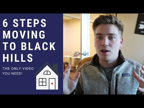 So You Are Moving To Rapid City/Black Hills SD?? 6 Steps To Make It Simple!!