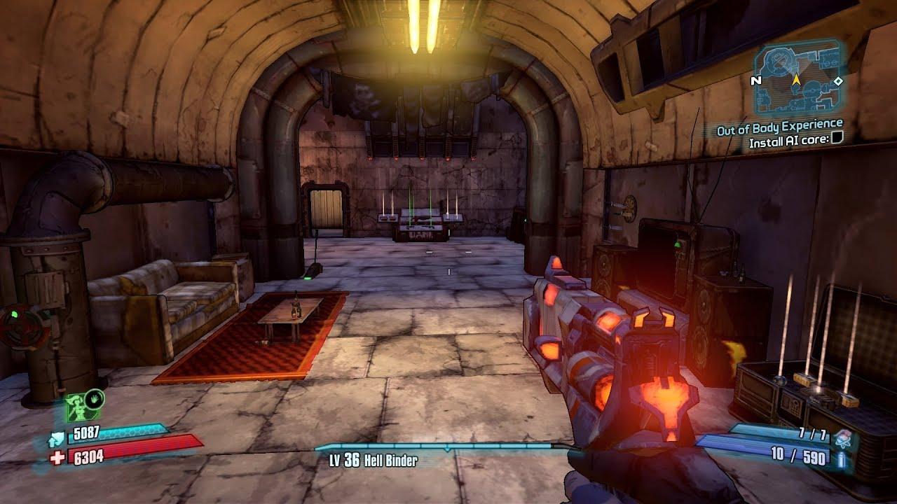 Bloodshot Stronghold Puzzle, Borderlands 2