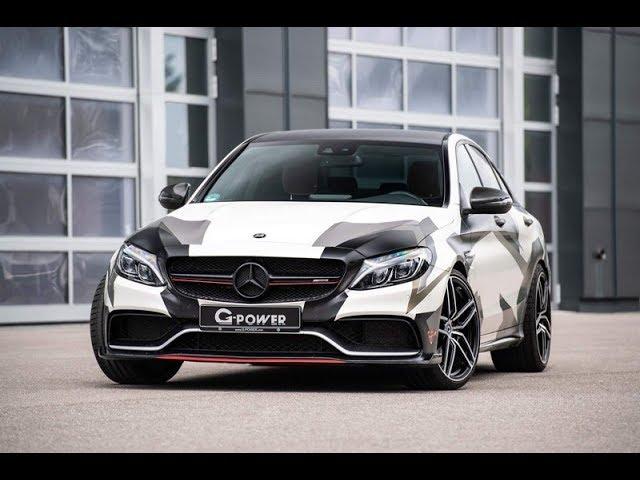 Mercedes AMG C63 S в исполнении G-Power.