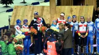 гонка чемпионов 2011 видео биатлон