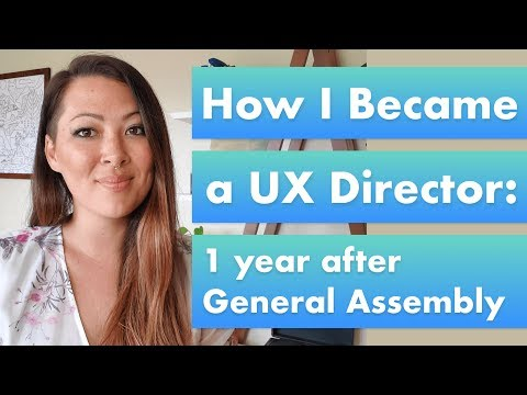 How I Became a UX Director: 1 year after General Assembly