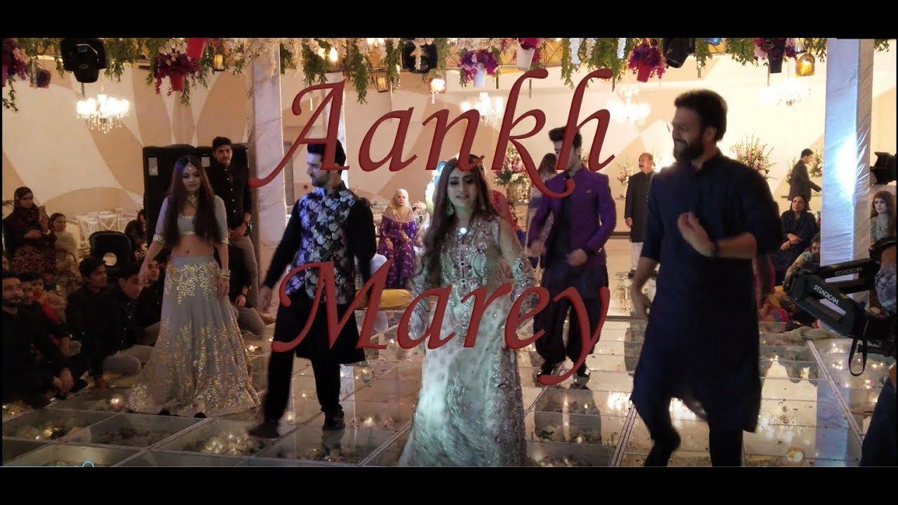 Aankha Marey Sara Ali Salon Spa Choreographed By Haroon Raj Youtube
