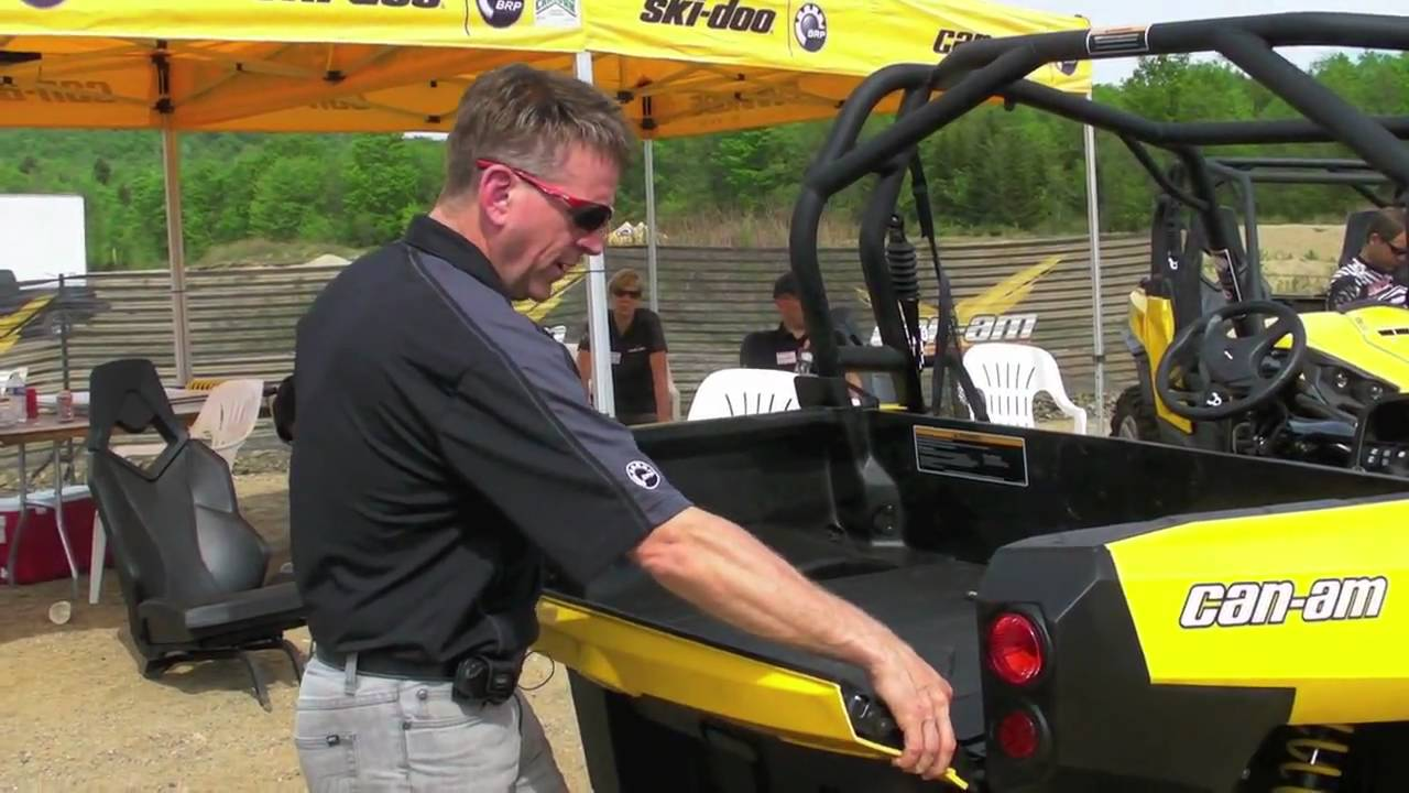 Side By Side Utv >> Can-Am Commander UTV Engineering Part 2 - Checking out the ...