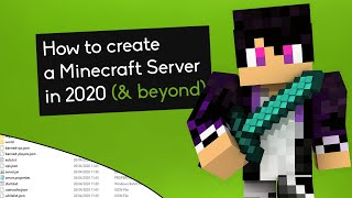 How to Make a Minecraft Server in 2020 (Play 1.16 w/ Your Friends)