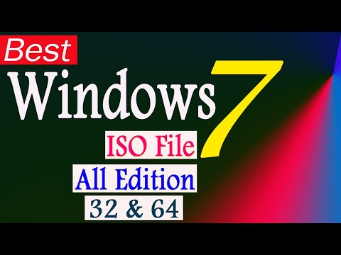 Windows 7 ISO | All Edition (x32 - X64 Bit) | Latest Service Pack 1