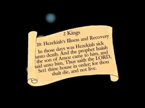 Image result for Hezekiah's recovery