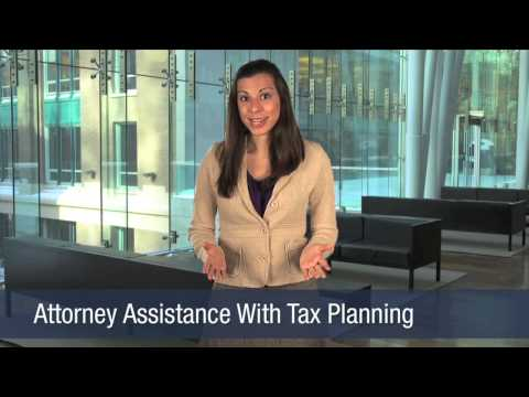 Attorney Assistance With Tax Planning