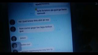 Awkarin VS Lula Lahfah / Isi chat Karin Novilda ke Lula + Klarifikasi Lulalahfah