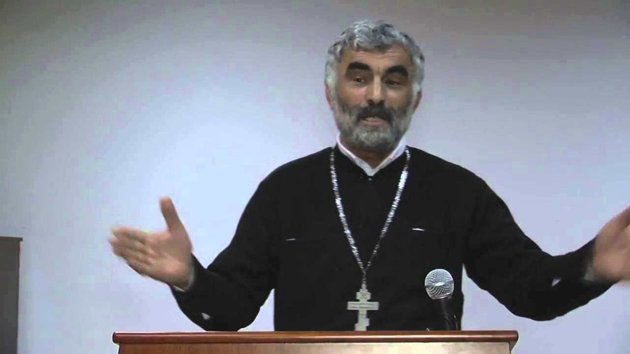 მღვდელი გურამ ოთხოზორია ღმერთი აბრაამისა ისააკისა იაკობისა 4 2 2015