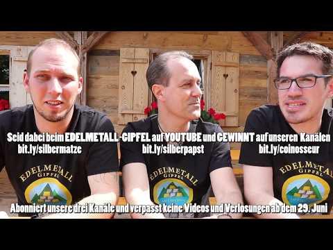 Gold - Silber - Ankündigung Videos Edelmetallgipfel Chiemsee mit Gewinnspielen