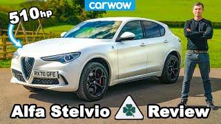 510hp Alfa Romeo Stelvio QV 2021 review - 0-60mph, 1/4-mile & brake tested!