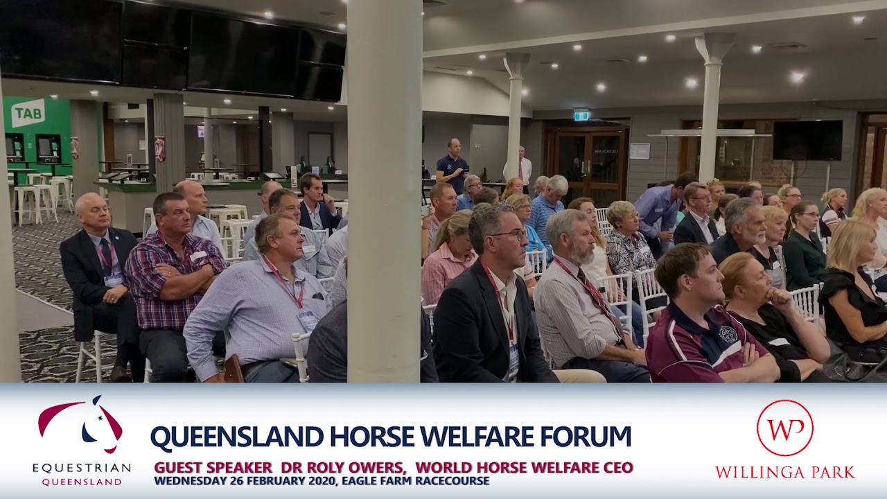 Queensland Horse Welfare Forum - Dr Roly Owers
