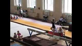 маша савченко спортивная гимнастика бревно
