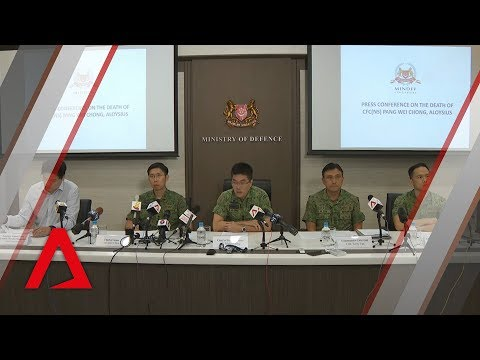 Press conference on death of actor Aloysius Pang | Full video