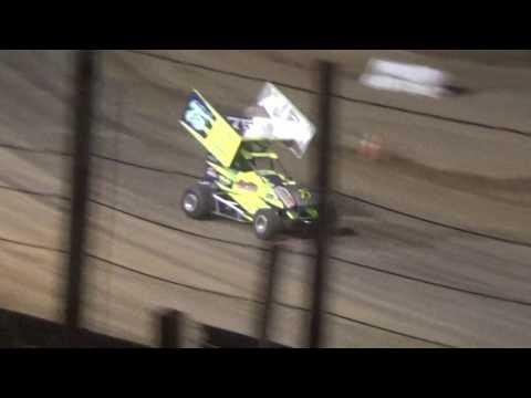Paradise Speedway Brandyn Griffin feature win 6/10/17