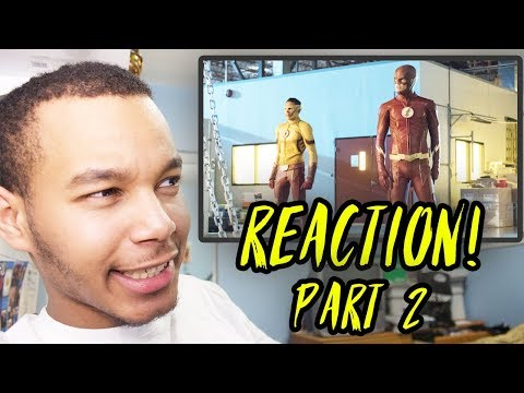 "The Flash Season 4 Episode 2 ""Mixed Signals"" REACTION! (Part 2)"